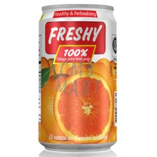 Freshy Orange Juice can 330 ml