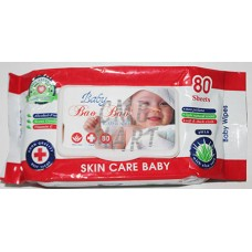 Baby Wipes 80 sheets 1 pack