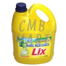 Lix Dishwasher Detergent Lemon + Vitamin Е 4 liters