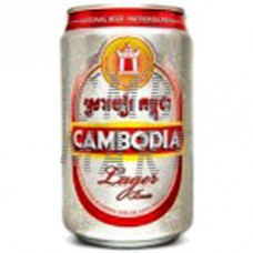 """Beer """"Cambodia""""  330 ml 1 can"""