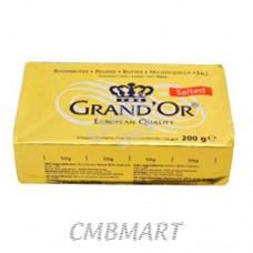 Butter Grand'Or Salted 200 gm