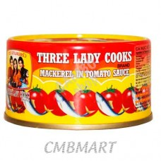 Three Lady Cooks  Mackerel in tomato sauce 190 gm