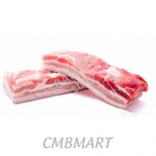 Pork belly raw