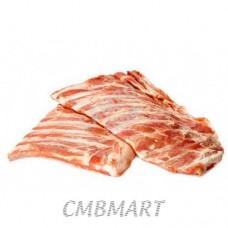 Pork ribs raw Frozen. 1kg