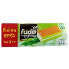 FUDO Layer Cake with Pandan Cream Flavour 5 pcs per 18 Gm