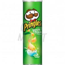Pringles Potato Chips - Sour Cream And Onion 158G
