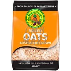 Rolled Oats Australian Grown 0.5 kg. The Muesli Company. Australia.