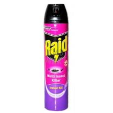 Raid Multi Insect Killer Instant Kill Lavender Fragrance 600 Ml