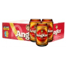 """""""Angkor"""" beer can 330 ml, price for 1 box 24 pcs"""