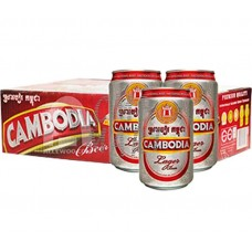 """Beer """"Cambodia"""" 330 ml, price for 1 box 24 can"""