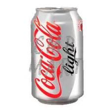 Coca-Cola light can 330 ml