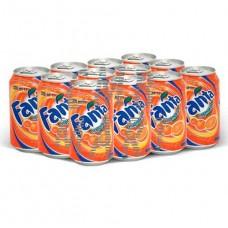 Fanta Orange 330 ml 1 box 24 pcs