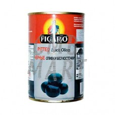 Figaro Pitted Black Olives 400 Gm
