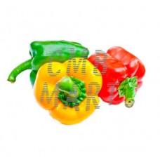 Set Bell pepper: red, green, yellow.  0.80-1 kg