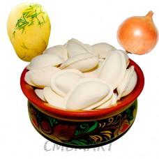 Dumplings with potatoes, onion 0.5 kg Frozen