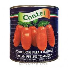 Contel Whole Peeled Tomatoes 2550g