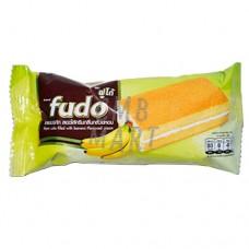 FUDO Layer Cake with Banana Cream Flavor 5 pcs per 18 Gm