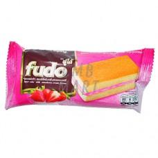 FUDO Layer Cake with Strawberry Cream Flavor 5 pcs per 18 Gm
