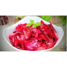 Pickled Cabbage salad with beetroot 400-450 g