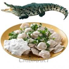 Crocodile dumplings. 500 Gm. Frozen