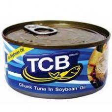 Tuna Chunk in Soybean Oil 185g