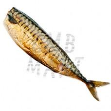 Norwegian mackerel hot-smoked. Headless  250-300g